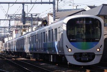 2010年1月10日、池袋~椎名町、38107Fの2150レ。