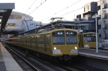 2010年1月14日、東長崎、287F+1303Fの4109レ。