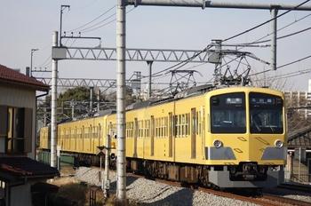 2010年1月18日、所沢~新所沢、295F+1249Fの5707レ。