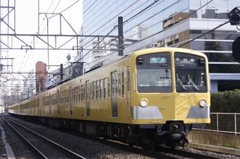 2010年1月20日、高田馬場~下落合、281F+1311Fの4621レ。