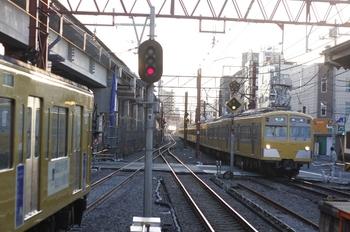 2010年1月22日、石神井公園、271F+1301Fの4111レ。