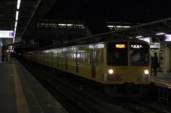 2010年1月22日、所沢、1311F+281Fの2606レ。