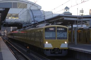 2010年1月23日、東長崎、1239F+1243Fの1001レ。