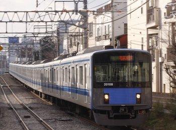 2010年1月23日、西武柳沢、20108Fの3318レ。