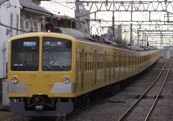 2010年1月23日、西武柳沢、1309F+285Fの3315レ。