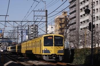 2010年1月24日、高田馬場~下落合、1309F+285Fの2812レ。