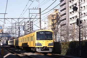 2010年1月24日、高田馬場~下落合、3015Fの5810レ。