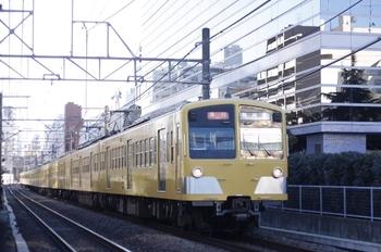 2010年1月26日、高田馬場~下落合、277F+1253F+1251Fの2803レ。