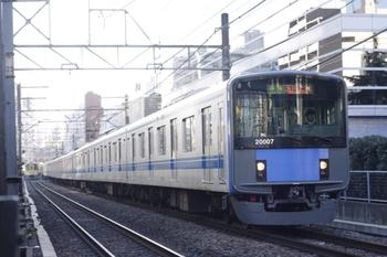 2010年1月29日、高田馬場~下落合、20107Fの4251レ。