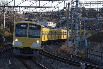 2010年1月30日、入間市、1303Fの1001レ。