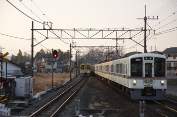 2010年1月30日、元加治、4023F+4005Fの1002レ。