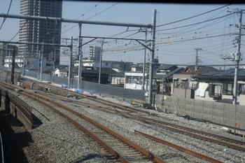 2010年1月30日、練馬高野台~石神井公園、下り列車から撮影。