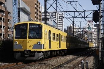 2010年2月7日、高田馬場~下落合、1311Fの5816レ。