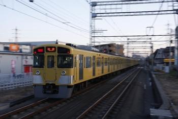 2010年2月7日、武蔵藤沢、2071Fの1106レ。