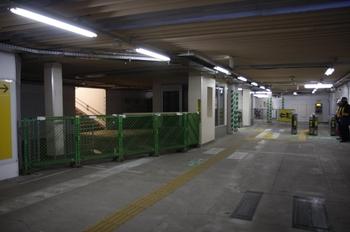 2010年2月7日、石神井公園、地下通路を北側から撮影。