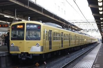 2010年2月9日、所沢、1243F+1253F+295Fの2603レ。