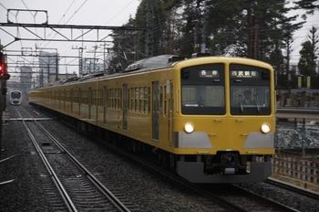 2010年2月11日、武蔵関、1309Fの5270レ。