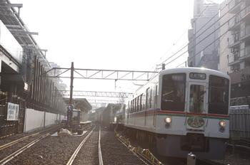 2010年2月14日、石神井公園、4021F+4017Fの1007レ。
