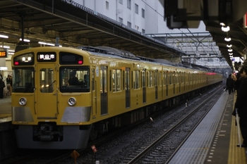 2010年2月16日、所沢、5609レの2543F+2019F。