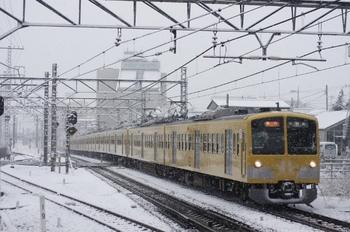 2010年2月18日、所沢、295F+1253F+1251Fの2603レ。