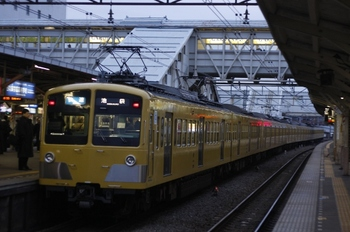 2010年2月22日、所沢、275F+1303Fの3106レ。