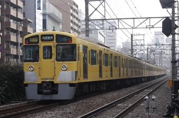 2010年2月23日、高田馬場~下落合、2051F+2503Fの2754レ。