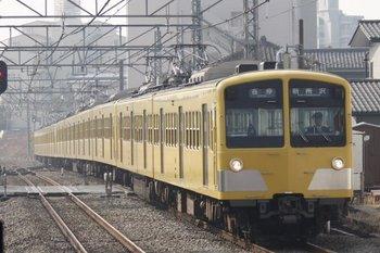 2010年2月24日、所沢、285F+1243F+1251Fの5807レ。