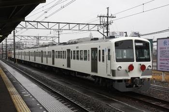2010年2月27日 7時40分頃、所沢、6番線に留置されている1247F+E34+E31。