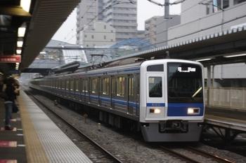2010年3月1日 7時5分頃、東久留米、6113Fの下り回送列車。