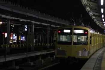 2010年3月3日 18時36分頃、保谷、発車した287F+1301Fの上り回送列車。