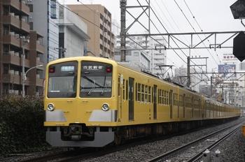 2010年3月7日、高田馬場~下落合、295F+1311Fの3318レ。