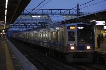 2010年3月8日、所沢、6101Fの2804レ。
