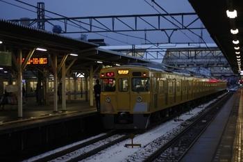 2010年3月9日、所沢、2005Fの2604レ。
