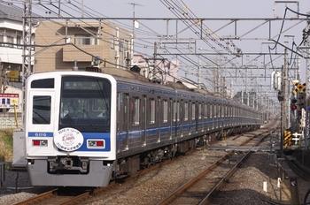 2010年3月20日、秋津、4116レの6116F。