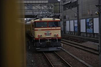 2010年3月28日 8時7分頃、飯能、側線に停車中のE34+1217Fほか