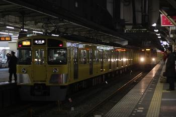 2010年3月30日、所沢、2677レの2455F+2001F。