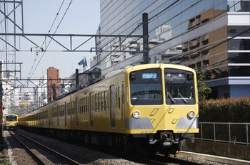 2010年3月27日、高田馬場~下落合、281F+1309Fの3309レ。