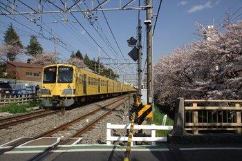2010年4月3日、武蔵関~東伏見、295F+1311Fの2658レ。