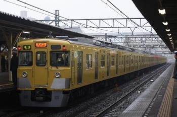 2010年4月5日、所沢、4806レの2413F+2529F+2545F。