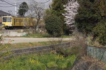 2010年4月10日、下山口~西武球場前、277F+275Fの6147レ。