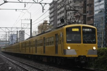 2010年4月12日、高田馬場~下落合、281F+1253F+1251Fの2754レ。