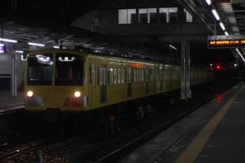 2010年4月16日、西所沢、到着した6200レの1251F+1253F。