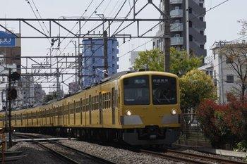 2010年4月18日、高田馬場~下落合、1309F+285Fの4614レ。