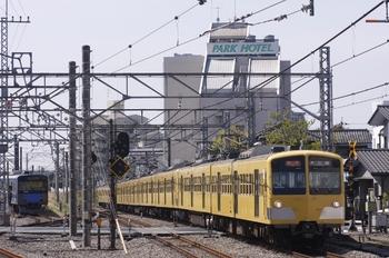 2010年4月18日、所沢、285F+1309Fの2627レ。