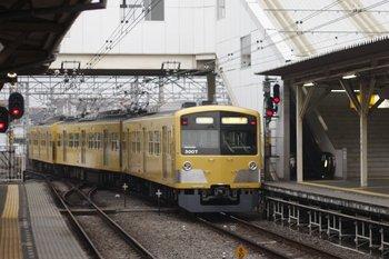 2010年4月20日 5時47分頃、所沢、3017Fの池袋線 上り回送列車。