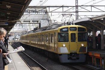 2010年4月30日、所沢、2457F+2089Fの4801レ(通勤準急 西武秩父ゆき)。
