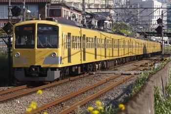 2010年5月2日、東村山~所沢、2607レの1311F+295F。