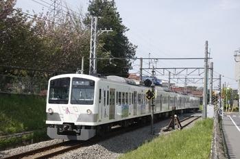 2010年5月3日、新小金井~多磨、1247Fの是政ゆき181レ。