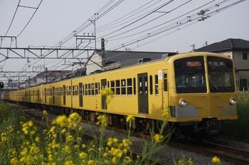 2010年5月5日、東村山~所沢、285F+1239F+1253Fの2605レ。