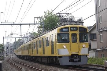 2010年5月6日、池袋~椎名町、2457F+2079Fの通勤準急 西武秩父ゆき(4801レ)。